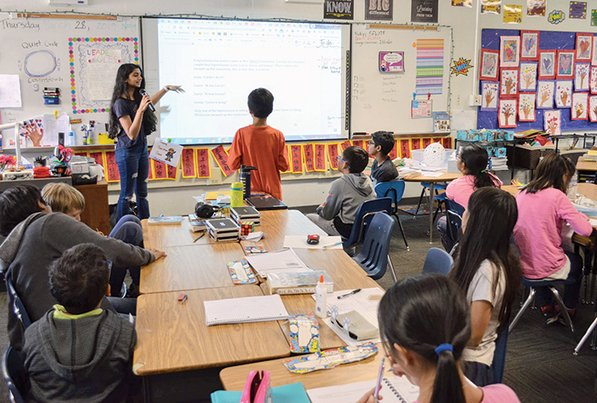 A Math Circles enrichment program in Arcadia Unified School District.