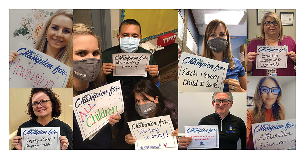 Attendees at ACSA's 2020 Leadership Summit shared what they are champions for.